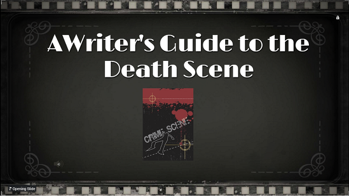 A writer's guide to the death scene r