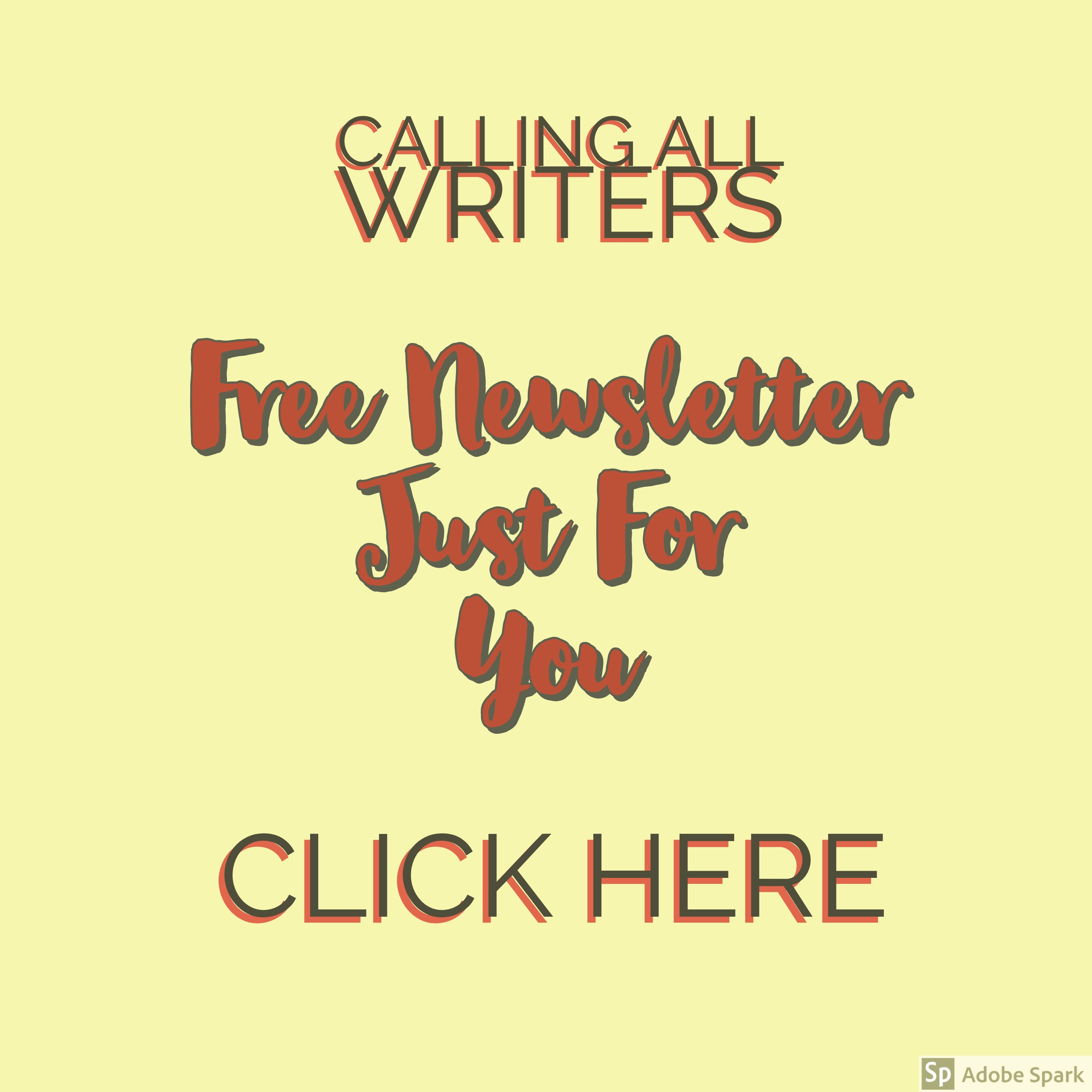 Newsletter for Writers